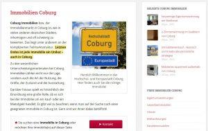 Immobilien Coburg