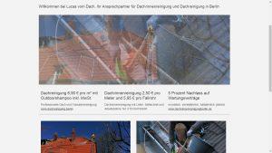 Lucas vom Dach: Dachreinigung & Dachrinnenreinigung in Berlin