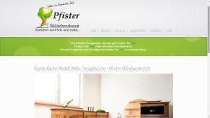 Runde Küche Welle der Pfister Möbelwerkstatt